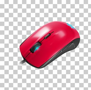 Computer Mouse SteelSeries Rival 100 Gamer Input Devices PNG