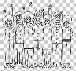 Finger Human Behavior Design Social Group Line Art PNG