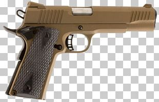 Springfield Armory M1911 Pistol .45 ACP Firearm Colt's Manufacturing Company PNG