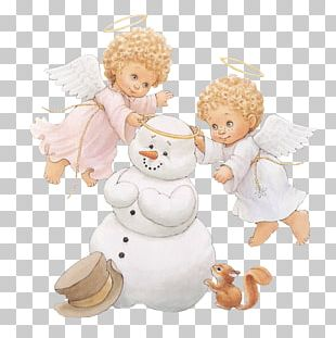 A Christmas Countdown With Ruth J. Morehead's Holly Babes Angel Animation PNG
