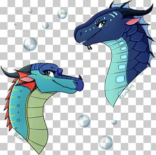 Tsunami Wings Of Fire Dragon Rip Tide Fan Art PNG