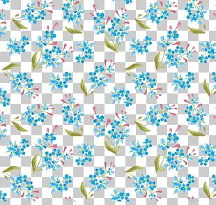Watercolour Flowers Watercolor Painting Pattern PNG