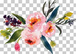 Watercolour Flowers Watercolor Painting Floral Design Flower Bouquet PNG