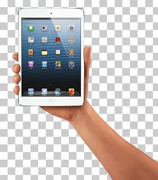 Hand Holding Ipad Tablet PNG