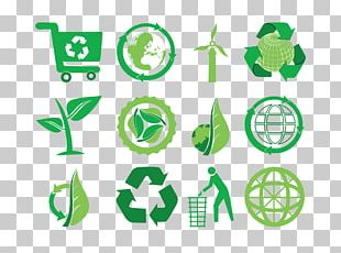 Ecology Recycling Symbol Natural Environment Icon PNG