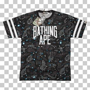 T-shirt Jersey Sweater Sleeve A Bathing Ape PNG