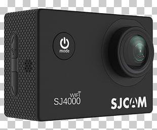 SJCAM SJ4000 Action Camera 4K Resolution Video Cameras PNG