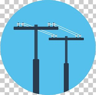 Electricity Transmission Tower Computer Icons Scalable Graphics Electric Power PNG