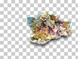 Bismuth Crystal Metal Mineral Bismut Natiu PNG