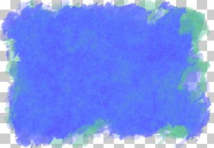 Desktop Abstract Art Blue Watercolor Painting Texture Mapping PNG