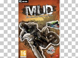 MUD: FIM Motocross World Championship Xbox 360 PlayStation Video Game PNG