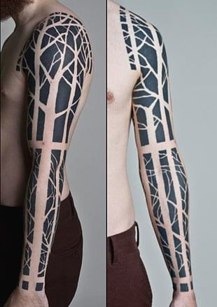 Polynesia Sleeve Tattoo Tattoo Artist PNG