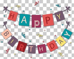 Birthday Bunting PNG
