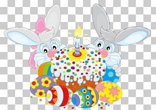 Rabbit Easter Bunny Happy Easter! Easter Cake PNG