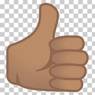 Thumb Signal Emoji World Android Oreo PNG