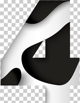 Logo Brand Black And White Font PNG
