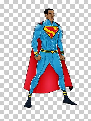 Superman Luke Cage Lex Luthor Superhero Comics PNG