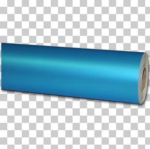 Aluminium Foil Blue Paper Color PNG