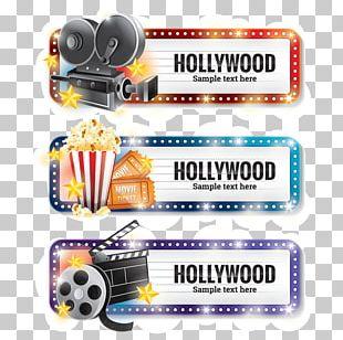 Graphics Film Reel Illustration Hollywood PNG