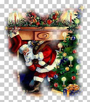 Santa Claus Christmas Gift Animation PNG