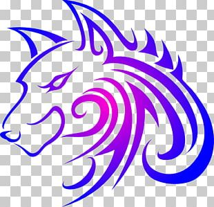 Gray Wolf Tattoo Drawing PNG