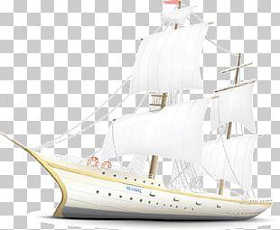 Brigantine Ship PNG