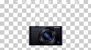 Camera Lens 索尼 Mirrorless Interchangeable-lens Camera Point-and-shoot Camera PNG