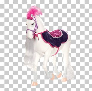 Andalusian Horse Our Generation Articulated Circus Horse 20 Inch PNG