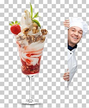 Sundae Chef Cook Restaurant PNG