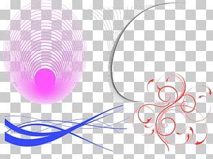 Curve Circle Graphic Design PNG