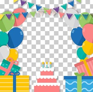 Paper Birthday Cake Greeting Card Poster PNG