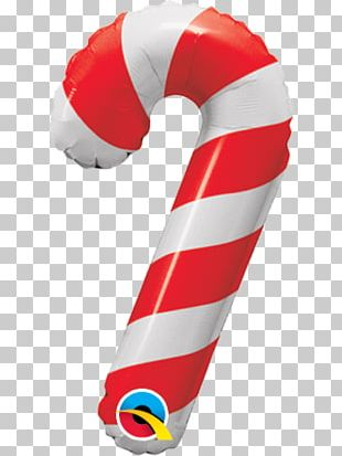 Candy Cane Balloon Lollipop Christmas PNG