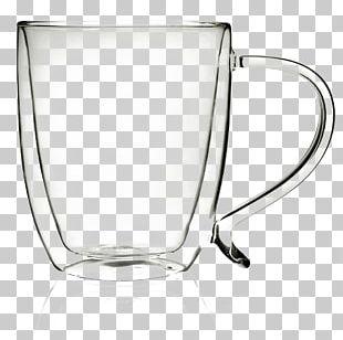 Iced Coffee Mug Glass Coffee Cup PNG