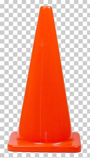 Traffic Cone Orange Road PNG