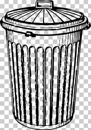 Rubbish Bins & Waste Paper Baskets Drawing PNG