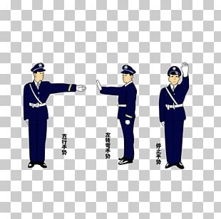 Police Officer Parking Enforcement Officer Traffic Police Gesture PNG