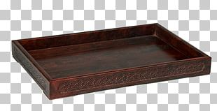 Table Tray Rectangle Wood PNG