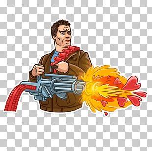 The Terminator Sticker Telegram YouTube PNG