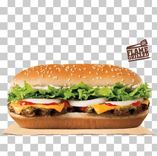 Hamburger Cheeseburger Burger King Butter Whopper PNG