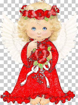 Angel Christmas Ornament PNG