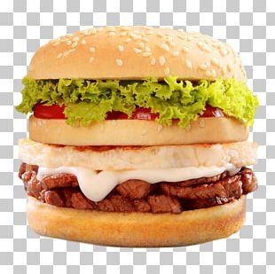 Cheeseburger Hamburger Whopper McDonald's Big Mac Breakfast Sandwich PNG