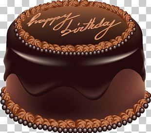 Birthday Cake Chocolate Cake PNG