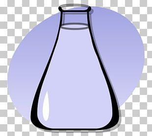 Chemistry Laboratory Flasks Information PNG