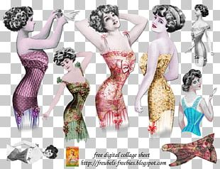 Costume Collage Fashion PNG
