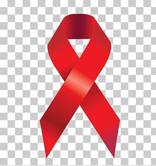 Epidemiology Of HIV/AIDS Red Ribbon World AIDS Day PNG
