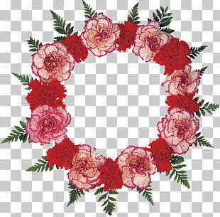 Cut Flowers Wreath Garden Roses PNG