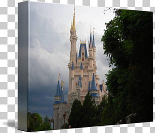 Cinderella Castle Disney Princess Fine Art PNG