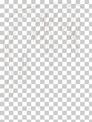 Sketch Mammal Human Hair Color Ear PNG