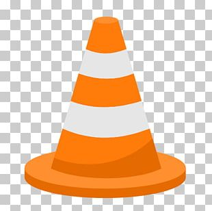 Orange Hat Cone PNG