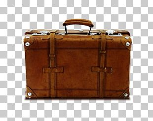 Suitcase Travel Retro Style Computer File PNG